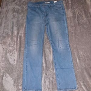 Straight Levi's Blue Jeans